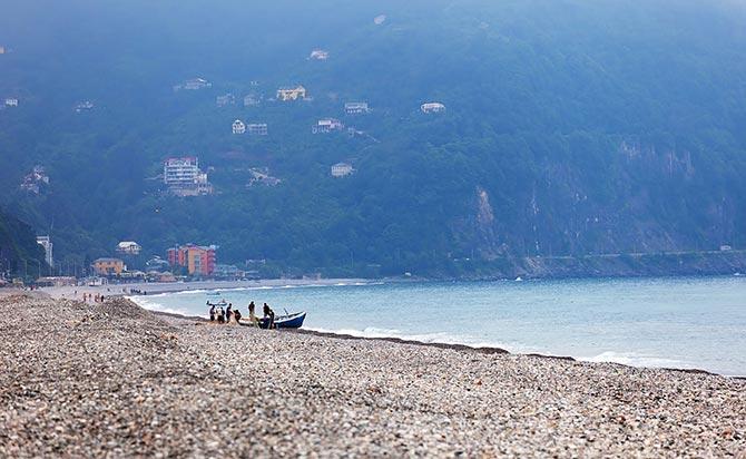 Gonio Beach in Georgias Black Sea