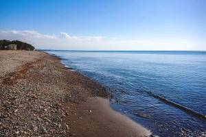 Grigoleti Black Sea Beach from Georgia
