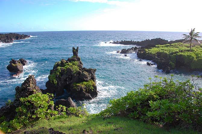 Waianapanapa State Park, Hawaii