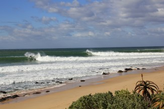 Beach Music, Beachfront Guesthouse, Jeffreys Bay, South Africa, waves