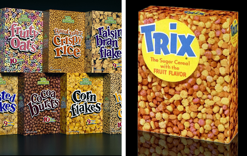 trix cereal x ray pack beach