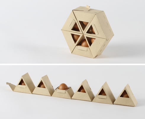 4 extremely polyhedral egg cartons beach for Design your own egg boxes