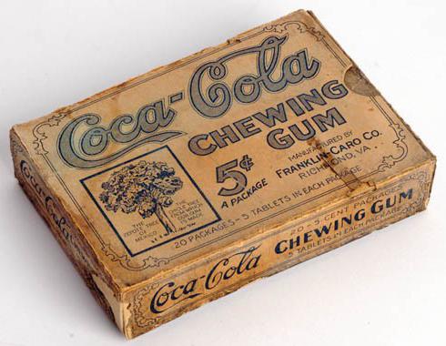 Coca-ColaChewingGumPackageDesign