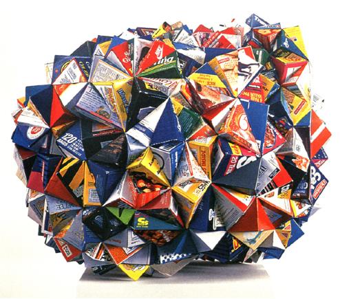 """Untitled"" 1996 box corners sculpture"