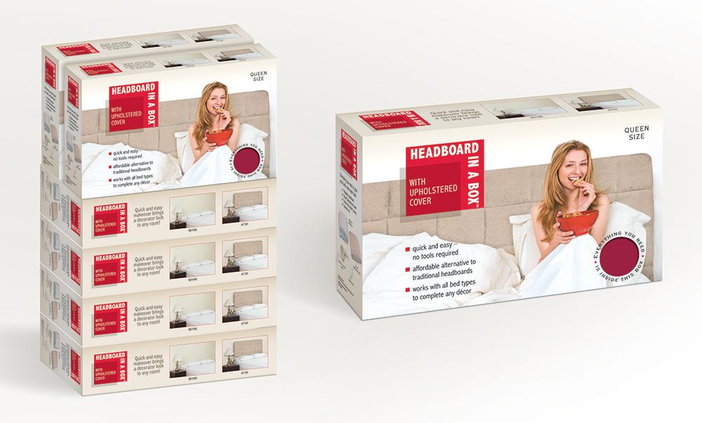 Headboard bedding accessories package design BEACH