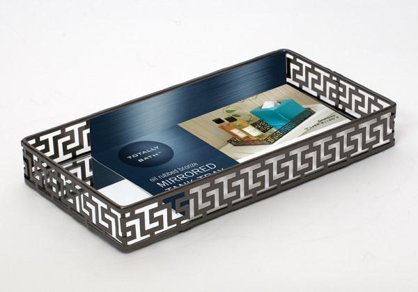 Mirrored Tank Tray insert card design