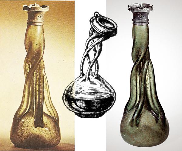 Kuttrolf bottles