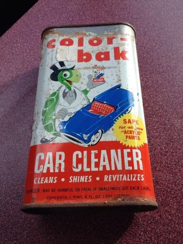 Droste Effect Turtle Wax Color-Bak tin