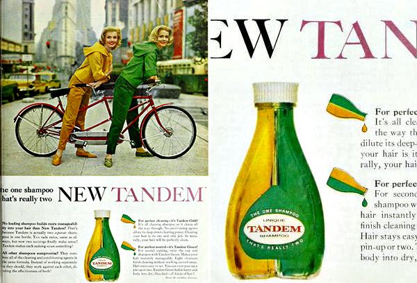 Tandem-Shampoo-Tandem-Bike-ad