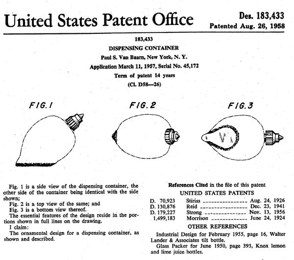 1958-PaulSVanBaarn-patent