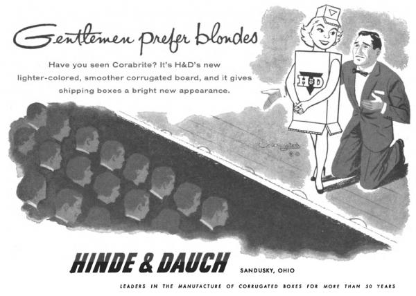 corabrite-blondes-ad-michigan-alumnus-1954