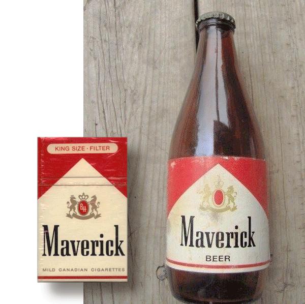 maverick-as-marlboro-cigarettes-beer-bottle-miller
