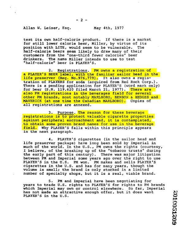 1977-fletcher-playersbeer-letter-2
