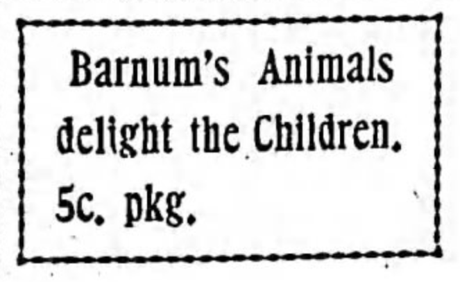 Barnum's Animals
