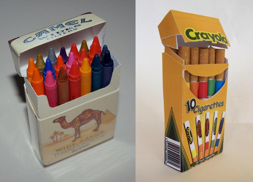 Crayons-Cigarettes