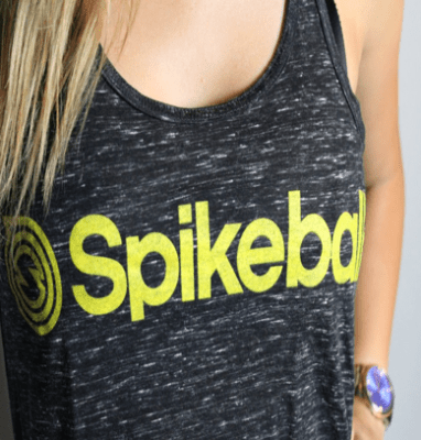 Lady Spiker Flowy Tank
