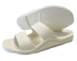 white Pali Hawaii jandals