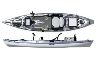 eddyline yakattack fishing kayak review