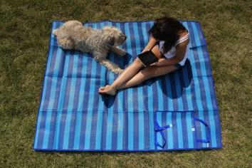 livin life beach blanket