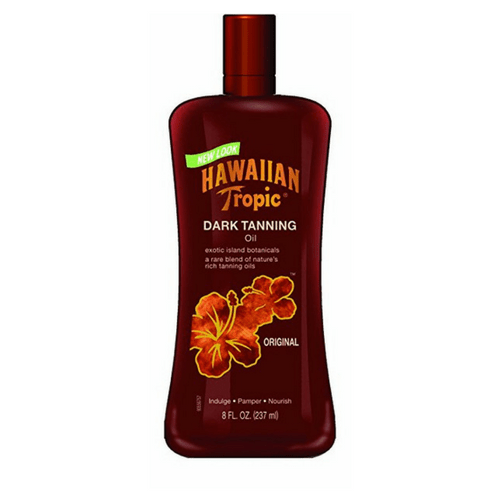 Hawaiian Tropic Dark Tanning Oil No SPF