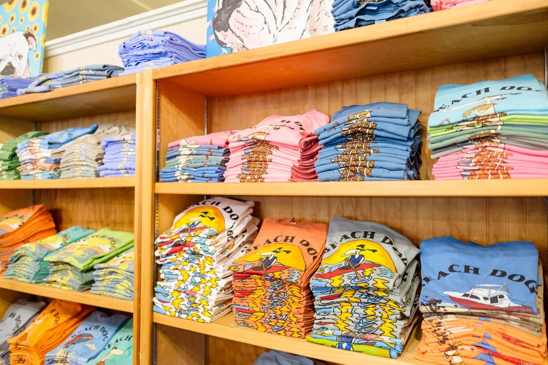Our famous Beach Dog t-shirts