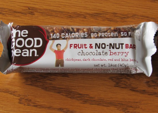 The Good Bean Fruit & No-Nut Bar