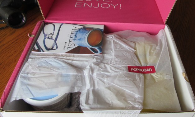 PopSugar Must Have Box August