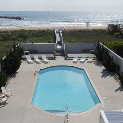 virginia beach oceanfront vacation rental home with pool