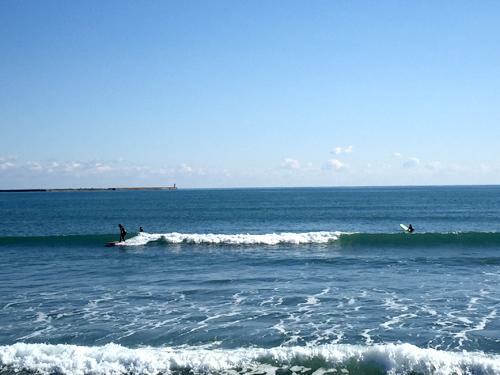 大洗サンビーチ海水浴場-サーファー