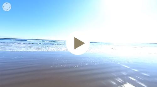 大洗サンビーチ海水浴場-VR動画2