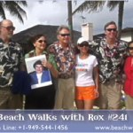 Beach Walk 241 – A hui hou, Evelyn