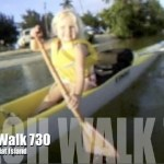 Beach Walk 730 – Kaile Paddles to Flat Island