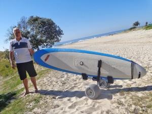 Heavy Duty Motorized Surfboard Carrier
