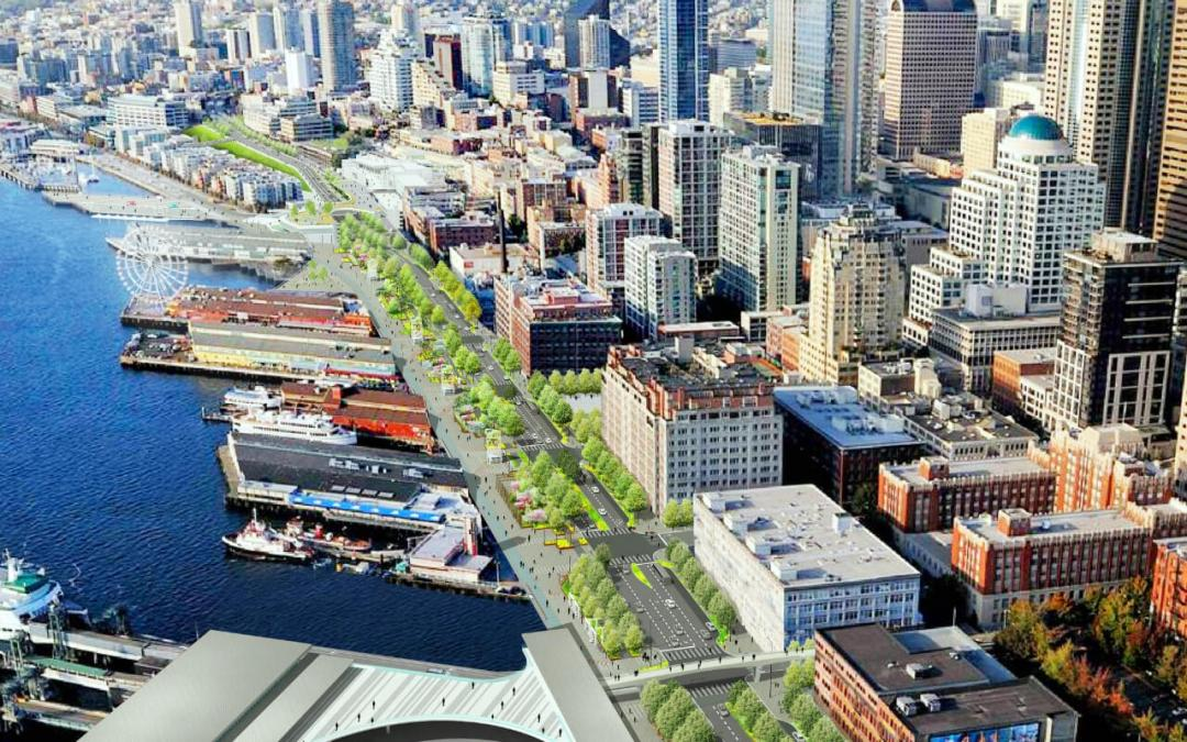 Here's What Seattle's New Waterfront Will Look Like [PHOTOS]