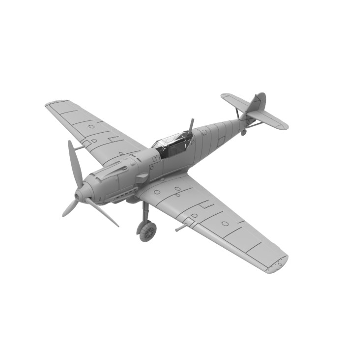 Bf109E-3 Render