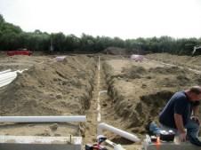 August 19, 2011 Plumbing drains.