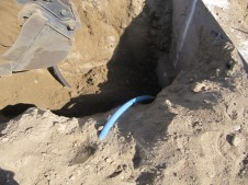August 22, 2011 Water line