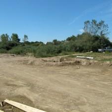 August 31, 2011 Drainage tank.