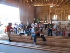 10/10/11 Workers: Gordon Johnston, Ray Warner, Bruce Miller, Bob Vallee, Matt Gedeon, Pastor Bill, Billy Reynolds, Terry, Brian, Brannon, & Devan Miller