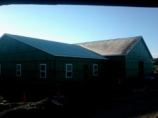 10/28/11 First Frost on the new roof!