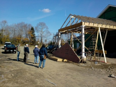 11/12/11 Crew: Frank, Terry, Brian, Brannon, Dave, Bob, Tommy. Great job, guys!