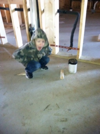 1/14/12 CJ finding out about the plumbing.