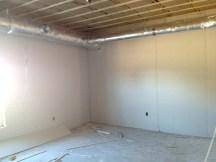 3/14/12 Sheetrocked Sunday school room