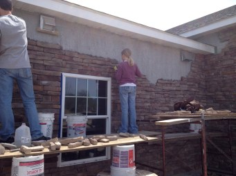 4/30/12 Anna & Brannon hanging stone