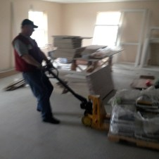 5/1/12 Lowe's delivery--more tile and grout