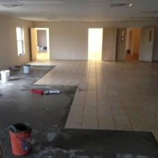 5/3/12 Fellowship hall getting tiled