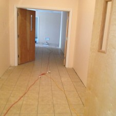 5/5/12 hallway tile