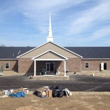 5/7/12 View of church from front