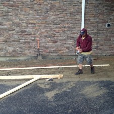 5/9/12 Preparing for the sidewalks