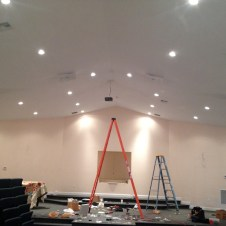 7/12/12 speakers and projector installed!